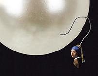 Girl with a pearl earring reinterpretations