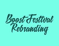 Boost Festival Rebranding