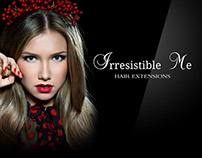 Irresistible Me Hair Extensions   Graphics