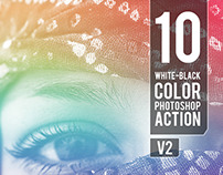 10 WB - Color Photoshop Action V2 / Graphicriver
