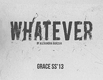 Whatever SS`13 Сatalogue