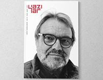 ''Yazılar'' magazine design