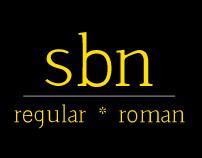 Sbn Font