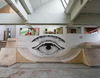 warehouse indoor skatepark