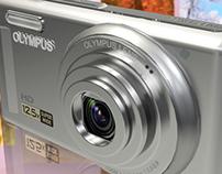 Olympus VR-320 (3D Modelling)