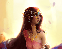 { Gentle princess }