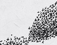 Orchestra della Toscana. A flock of birds.