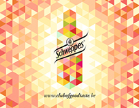 Schweppes Club of Good Taste Posters