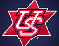 Maccabi Team USA Baseball Emblem