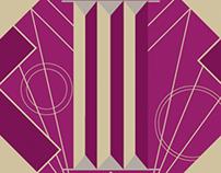 Art Deco Necktie