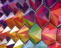 PyraHex Color Wall