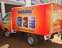 Berger Paints Ashok Leyland Branding