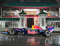 Red Bull F1 in Hong Kong Campaign