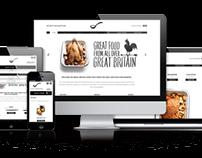 Scoff & Banter Restaurants in London (Responsive Site)