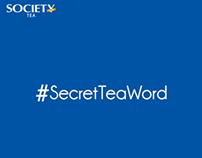 #SecretTeaWord Contest by Society Tea