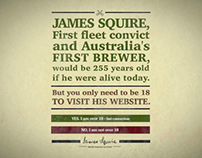James Squire-A man of many tastes