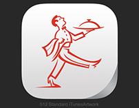 Restaurant app icon (Practise work)
