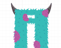 Monsters Typography