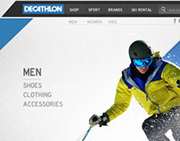 DECATHLON - website