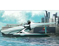 F1 Racing Boat