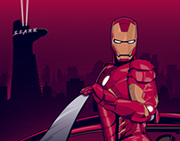 HEROES / COMIC CON PARIS - IRON MAN