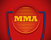 Commercial material for Mixed Martial Arts event