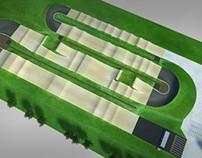 Visualisation of BMX track