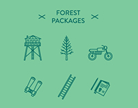 Forest Packages - Free icon sets
