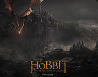"""""""The Hobbit: The Desolation Of Smaug"""" Movie Poster"""