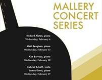 Mallery Concert Poster Series
