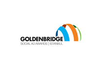 Goldenbridge Social Ad Awards Website Mock-up