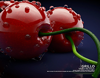Stylized Cherries