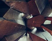 Inside Concrete Cross