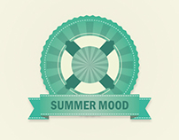 Summer mood - Poster project