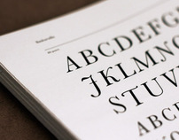 Typography Process Book