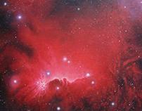 Cosmos - Paintings 2010 - 2011.
