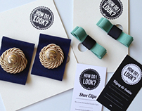 "Branding for handmade company ""How do I look?"""