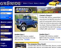Gr8ride Enthusiast Website