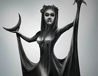 Woman Statue - Skyrim Concept