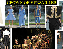 Versailles-Inspired Women's Contemporary Fashion