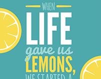 Brightside Lemonade & Co. Branding