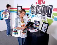 Freakout Film Festival Branding