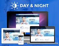 DAY & NIGHT Multi Purpose Creative Theme