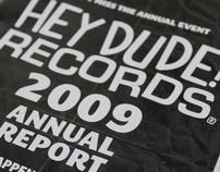 Hey Dude! Records annual report