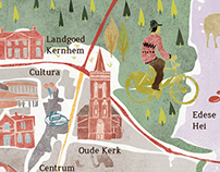 Culture Map of Ede (The Netherlands)