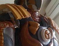 Samurai Karasu part 1 (Fukuoka, Japan exhibition)
