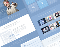 Concept 2 - Creative & Stunning Wordpress Theme