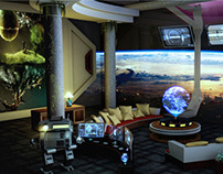 scifi concept room art work