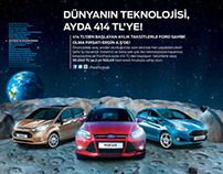 Ford Print Ad Retouch