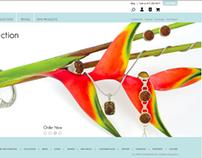 Web Design  |  Cirquejewels